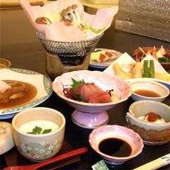【彩の膳】平日11800円!ゆったりお気軽に♪お手軽に三朝温泉を楽しめる二食付プラン