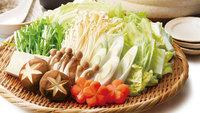 【鍋プラン×寄せ鍋】魚や野菜が入った定番の寄せ鍋でほっこりあたたまる<会場食>