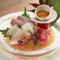 1泊2食付【日本海の幸5点盛り】【海鮮しゃぶしゃぶ】がメイン 〜海鮮会席〜
