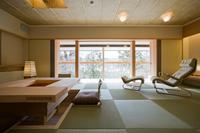 101号室 ホテル1番人気、温泉付離れ・スイートルーム