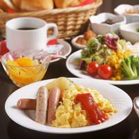 【朝食付】和洋選べる朝食セット!一日の始まりはおいしい朝食から ■堺駅より徒歩3分