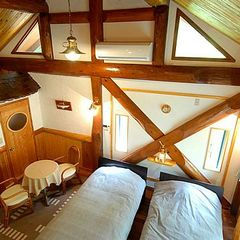 船室をイメージした【露天風呂付】客室(ツインR・2名用)