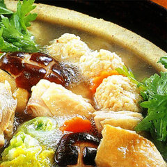 【鶏のつみれ鍋】11〜3月限定! 寿特製鍋でほっこり♪