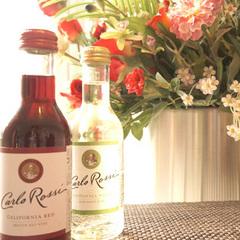 【 カップルご夫婦向け 】赤と白のベビーボトルワインをサービス☆朝の時間をゆっくりと♪21時間滞在