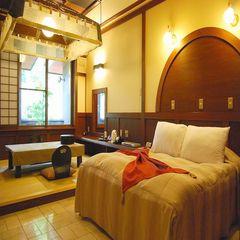 <16畳和洋室Wベッド>部屋食・温泉露天・岩盤浴付
