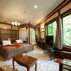<特別室26畳和洋室・ツイン>部屋食・温泉露天・岩盤浴付