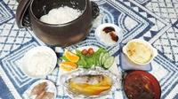 【2食付き】土鍋炊きのこだわりご飯が自慢!夕食は日替わり定食をどうぞ!