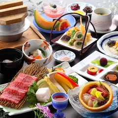 【ちょっぴり贅沢プラン】ワンランク上のお料理で庭園を眺め寛ぐ休日