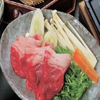 【とにかく肉!!】奥出雲和牛とポークを入れた肉三味・選べるすき焼きorしゃぶしゃぶ