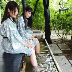 【平日限定】【カップルにおすすめ】人気の貸切露天風呂が45分無料! 〜夕食バイキングプラン〜