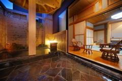 さくらの間【露天風呂付特別室】和室12畳