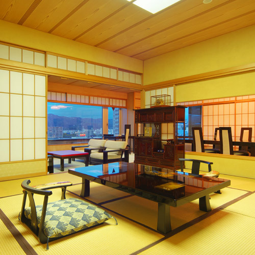 ★当館最上級!ゆとりの広さは111㎡、高知城を望む貴賓室で過ごすプラン★