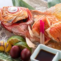 【旬彩物語/海幸コース】贅沢!旬の金目鯛丸ごと1匹つき♪黒毛和牛ステーキに軍鶏&はちきん地鶏のすき鍋