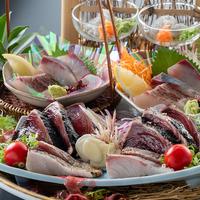 【旬彩物語/雪見コース】土佐鯛と四万十ポークのアゴ出汁鍋に牛ロースステーキ、旬魚の御造り&鰹タタキ付