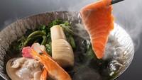 【お部屋食確約】≪旬彩物語/朧月コース≫伊勢海老姿造りや土佐赤牛のステーキに室戸サツキマスの春野菜鍋