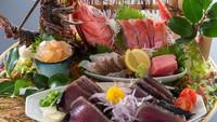 【旬彩物語/朧月コース】贅沢づくし♪伊勢海老姿造りや土佐赤牛のステーキに室戸サツキマスの春野菜鍋