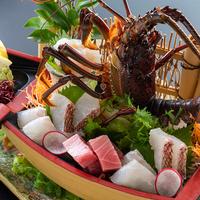 【旬彩物語/竜潮コース】幻の高級魚本クエ&龍馬ふぐを食す冬の贅沢づくしコース!≪龍馬フグのてっさ付≫