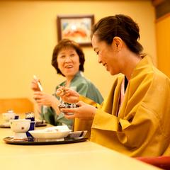 【母娘プラン】お母さんと旅しよう♪母娘で愉しむ親子2人旅〔カウンター食コース〕