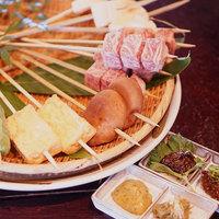 【岩村山荘◇春グルメ】飛騨牛炭火串焼きと採れ立て!山菜尽くし料理で春の味覚を満喫してや!