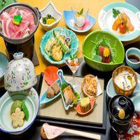 【心にググっと】お気楽会席◇ぐんま地産会席プラン◆食事処桜の間和宴テーブル
