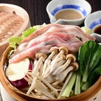 【心にググっと】上州麦豚のセイロ蒸しプラン☆夕食メインが上州麦豚にグレードアップ!