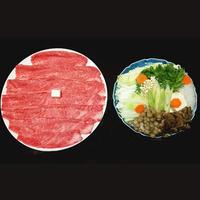 【選べる調理法】米沢牛(肩ロース)すき焼orしゃぶしゃぶを満喫♪