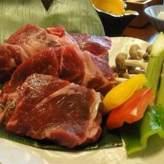 熊本名物「味彩牛」を阿蘇の溶岩焼きで!肉2倍ワンドリンク付プラン
