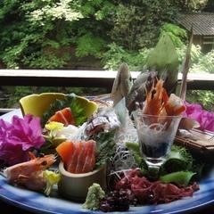 【特典付】魚の姿造りが特別な夜を彩る☆御料理グレードアッププラン