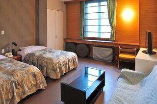一番お得なベッドのお部屋 【西館3階洋室温泉街側】ペット不可