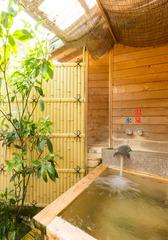 【檜の露天風呂付き和室10畳】バス・トイレ付き※温泉