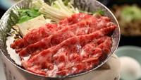 【名月】柔らかで美しい『信州牛』しゃぶしゃぶorすき焼き会席プラン◇趣異なる6つの湯