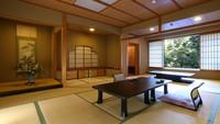 【紫陽花・滝見】池庭を望む、数寄屋造りの特別室