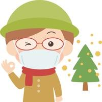 マスク5枚プレゼント&お部屋に高機能加湿空気清浄機常設!完全禁煙室【花粉症の方必見!】朝食付