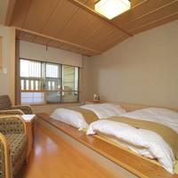 ◆和モダン洋室(温泉露天風呂付)