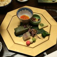 【夕食グレードアップ】奈良の味に舌鼓♪量と質にこだわった料理長特選会席