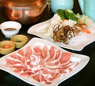 【3種の絶品しゃぶしゃぶプラン☆】牛・豚・蟹チョイス ♪