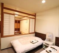 N 本館2F ツインベットルーム+和室6帖
