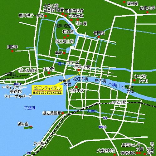 All Running Onsen Matsue City Hotel Honkan All Running Onsen Matsue City Hotel Honkan
