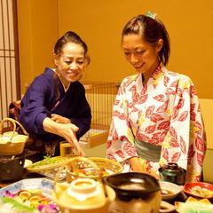 【当館人気NO1】料理長自慢の地元グルメ☆「近江八景会席プラン」(夕部屋食)