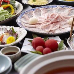 【免疫力アップ】温泉と近江名産バームクーヘン豚の「吟醸鍋」でウィルスに強い体に【夕・朝食お部屋食】