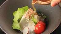 【上質を愉しむ旅〜春の特選会席「花雲」】天然白身に萩甘鯛、春を誘う釜飯。料理長が腕を振るう旬の味わい