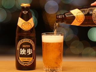 【出張応援プラン】岡山の地ビール〜独歩〜付き宿泊プラン