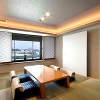 露天風呂付客室『浜水晶・特別室』で過ごす贅沢な休日