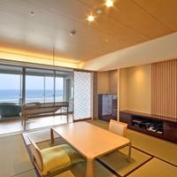 2017年3月オープン露天風呂付客室『浜水晶和室』【禁煙】