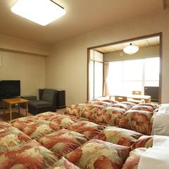 (ビーチビュー)和室6畳+洋室ツイン39平米 2〜5F