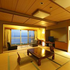 <オーシャンフロント>和室15畳+サンルーム 6〜8F