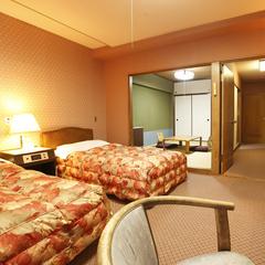 <オーシャンフロント>和室6畳+洋室ツイン47平米 2〜5F