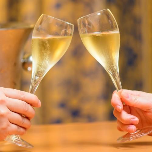 お部屋で乾杯【オードブル&スパークリングワイン】チアーズプラン☆