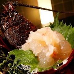 【カップルプラン】伊勢エビ&アワビ&牛ステーキをシェア!更に6大特典付