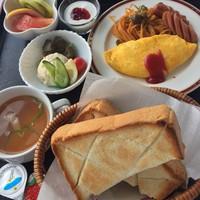 \★当日限定×19時以降IN★/【和食・洋食・お茶漬】選べるご朝食サービス♪
